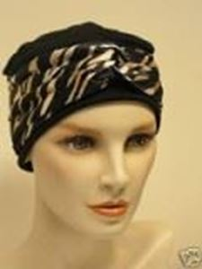 Picture of Anna Hat Black, Navy or Cream  - Hair World