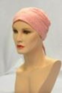 Picture of Eyelet Scarf Dusky Pink - Hair World