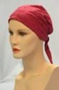 Picture of Eyelet Scarf Raspberry - Hair World