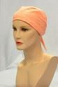 Picture of Eyelet Scarf Peach - Hair World