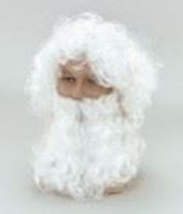 Picture of Father Christmas Budget Wig - BW019
