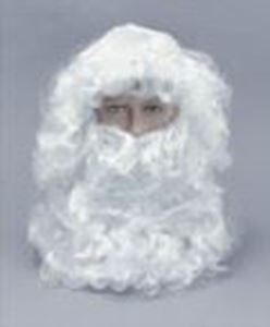 Picture of Father Christmas Wig & Beard Standard - BW115