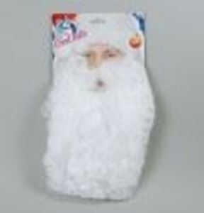 Picture of 11 Nylon Father Christmas Beard - MB035""