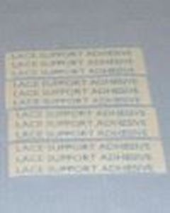 Picture of 3 inch lace support straight strip tape