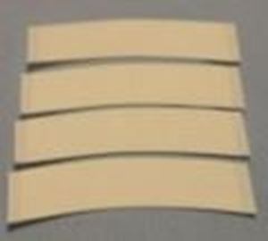 Picture of 3 inch pre-cut double sided transparent tape