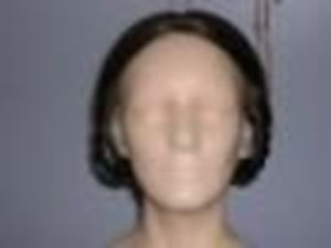 Picture of Lady's Wig 1852-1875 - Front View