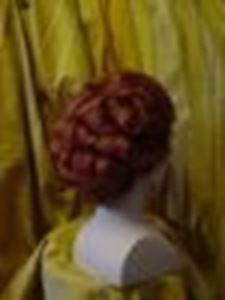 Picture of Lady's 18th Century Wig - Back View - DSC 00384