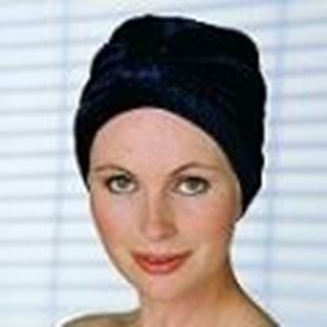 Picture of Velveteen Turban - Natural Image