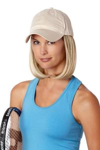 Picture of Classic Hat With Hair - Beige - Henry Margu